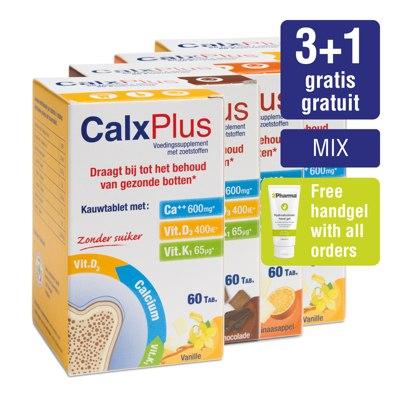 Paquet CalxPlus (4 x 60 tabletten) MIX